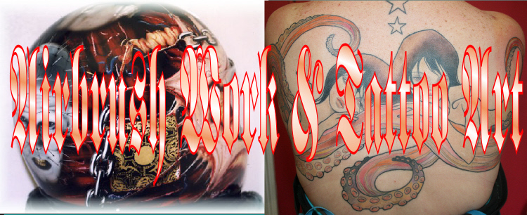 Airbrush Work & Tattoo Art